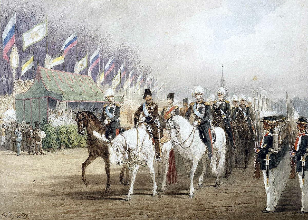 تاریخ روابط ایران و روسیه